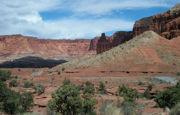 Capitol Reef National Park: You could begin to believe it goes on forever.